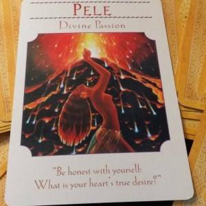 Pele, goddess