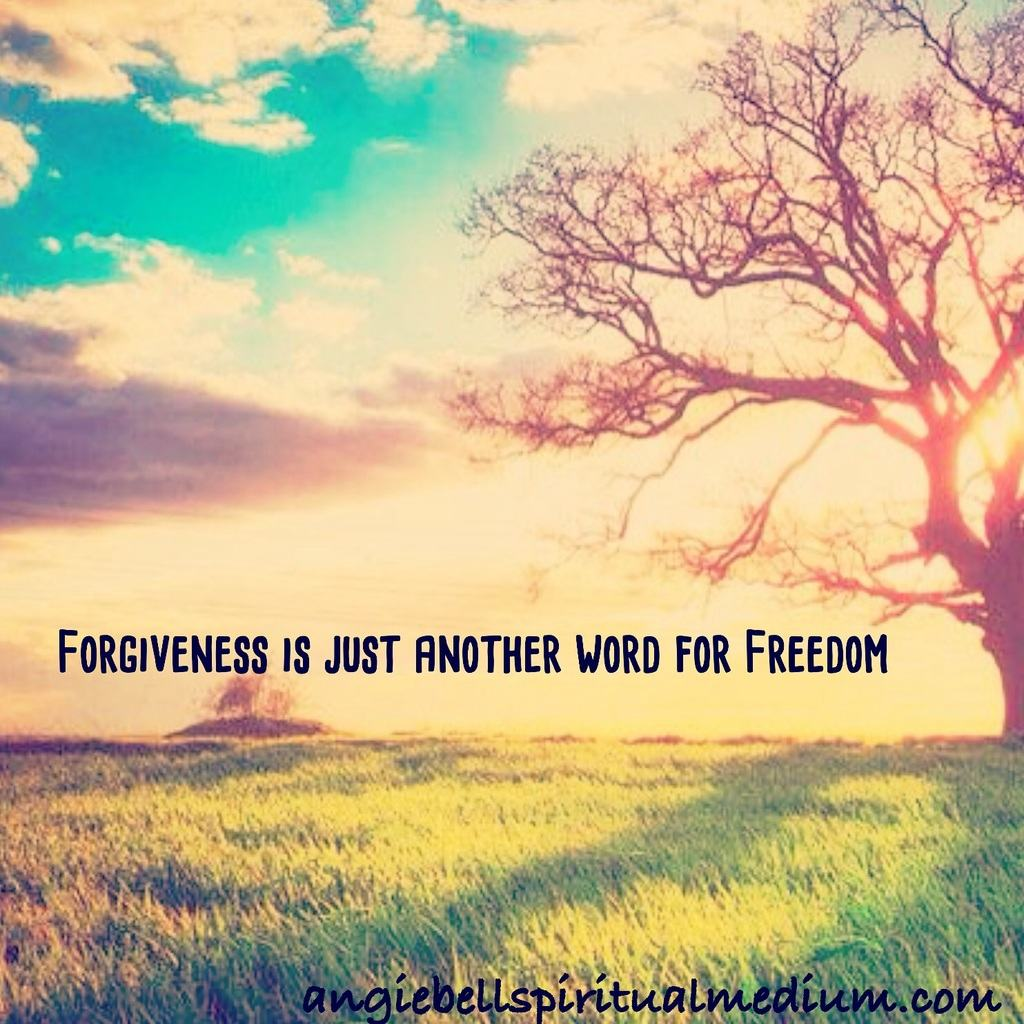 Forgiveness means Freedom