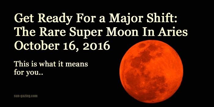 Full Moon – October 16th 2016