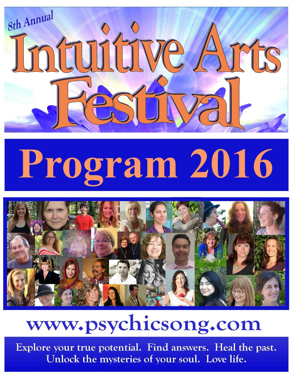Intuitive Arts Festival 2016 in Victoria