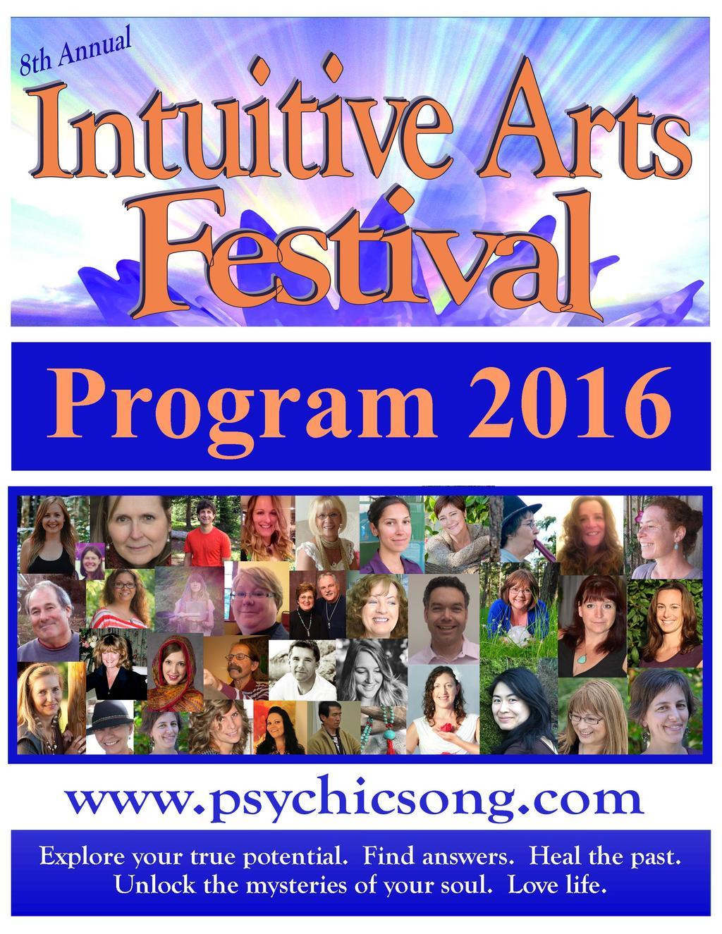 Intuitive Arts Festival 2016 in Victoria